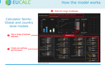 EUCalc at the REEEM workshop on Grid and Dispatch in South Eastern Europe
