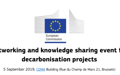 Networking and knowledge sharing event for decarbonisation projects