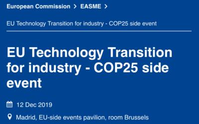 EUCalc at COP25